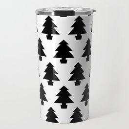 Minimalist Trees Travel Mug