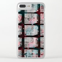 pets blocked Clear iPhone Case