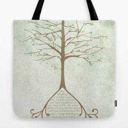 Jeremiah 17:7&8 Tote Bag