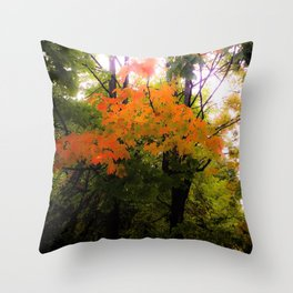 Autumn Magick Throw Pillow