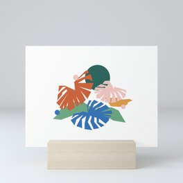 botanical dreamscape Mini Art Print