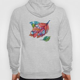 Colorful autumn leaves Hoody