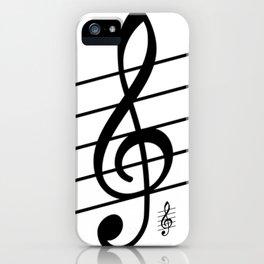 der Schlüssel zum Herz ist die Melodie   (A7 B0022) iPhone Case