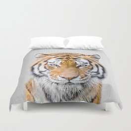 Tiger - Colorful Duvet Cover