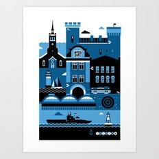Tallinn Art Print