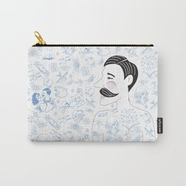 Tattooed Bob Carry-All Pouch
