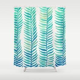 Seafoam Seaweed Shower Curtain