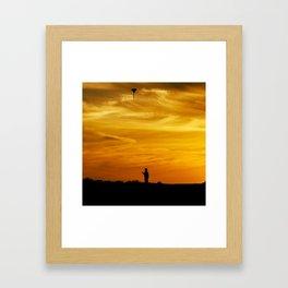 Kite I Framed Art Print