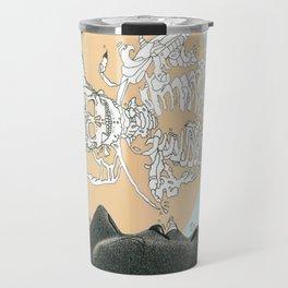 el centro pastel Travel Mug