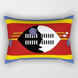 Flag of Swaziland Rectangular Pillow