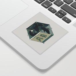 Cube 03 Sticker
