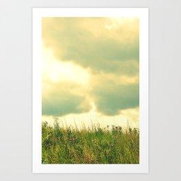 Heaven and Earth Art Print