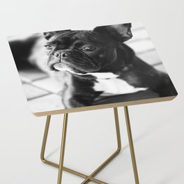 French Bulldog Side Table