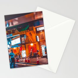 Tokyo Nightlife Stationery Cards