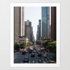 59th & 2nd Ave Art Print