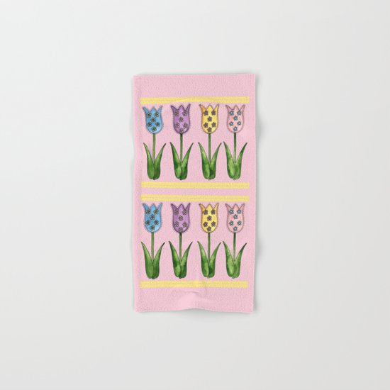 Tulip Row Hand & Bath Towel