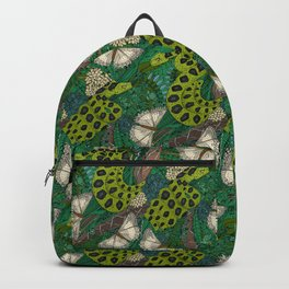 entangled forest green Backpack
