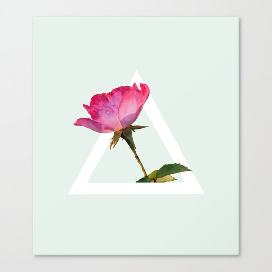 Rose #society6 #decor #lifestyle #buyart Canvas Print