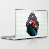merida Laptop & iPad Skins featuring Merida by Karrashi