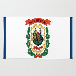 flag west virginia,america,us,south,Mountain, Virginian,Charleston,Huntington,Morgantown,Parkersburg Rug