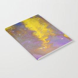Blue & Yellow Notebook