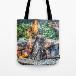 Dancing Fire Tote Bag
