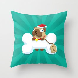 A (Christmas) Bone to Pick With You Throw Pillow