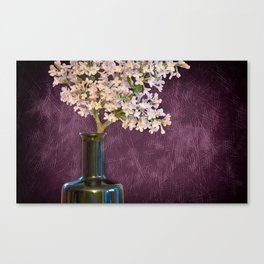 Lilac and Bottle Canvas Print