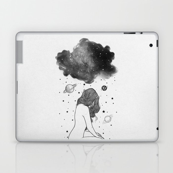 I prefer night. Laptop & iPad Skin