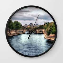 La Seine Wall Clock