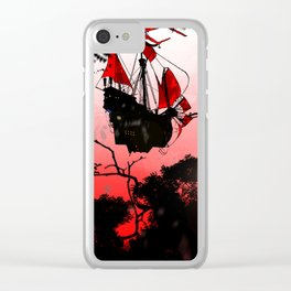 RED SAILS - GMB CHOMICHUK Clear iPhone Case
