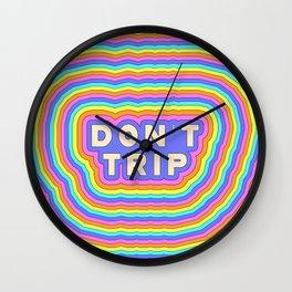 !dOnT tRiP! Wall Clock