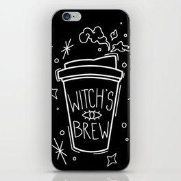 Witch's Brew Coffee iPhone Skin