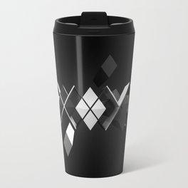 Argyle Deconstruction Travel Mug
