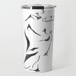 Bagpiper Sketch Travel Mug
