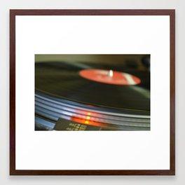 Vinyl#1 Framed Art Print