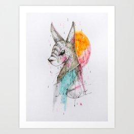 UNFOLLOWED Art Print