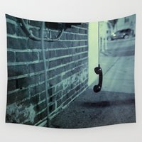 hook Wall Tapestries featuring Off The Hook by Nick Coleman