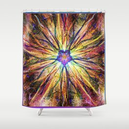 """""""Oyster Spider"""" by surrealpete Shower Curtain"""