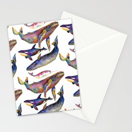 Whale Pyramid #2 Stationery Cards