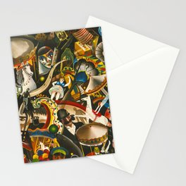 Classical Masterpiece 'The Fair in Utrecht by Pyke Koch Stationery Cards