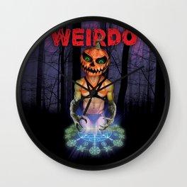 WEIRDO: Samhain Wall Clock