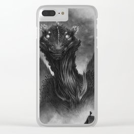 The Dragon of the Valley Clear iPhone Case