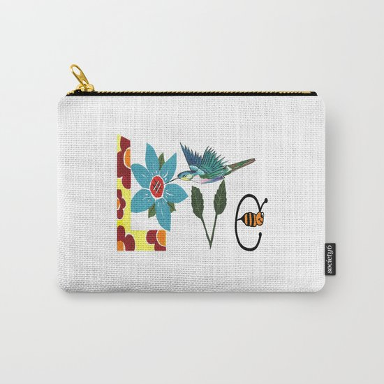 L Is For Love Carry-All Pouch