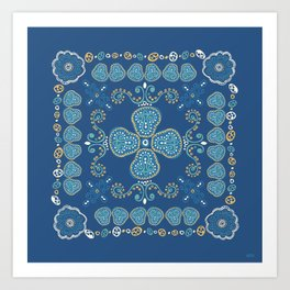 Quilted Art Print
