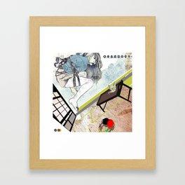 shibari_4 Framed Art Print