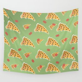 Pizza on My Mind (2) Wall Tapestry