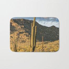"""Sonoran Desert Scene 10"" by Murray Bolesta Bath Mat"