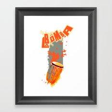 la Bomba Framed Art Print