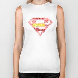 Superman Biker Tank